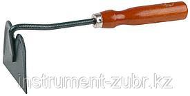 Мотыжка GRINDA, прямое лезвие, из углеродистой стали с деревянной ручкой, 250 мм