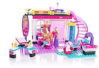 Конструктор Mega Bloks Barbie Build`n play Салон красоты, 176pcs