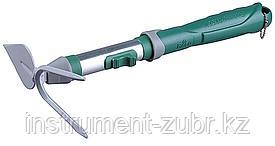 Мотыжка садовая RACO, лезвие лепесток / 2 зубца, коннекторная система, 33см