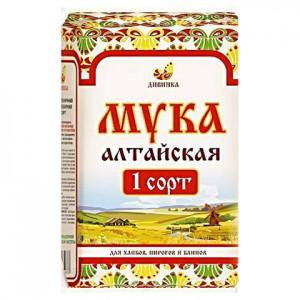 Мука пшеничная хлебопекарная, первый сорт, 2кг