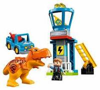 Лего конструктор LEGO 10880 Башня Ти-Рекса