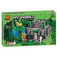 """Конструктор Minecraft""""Храм в Джунглях""""604 дет."""