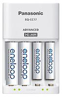Panasonic BQ-CC17 Eneloop Pro з/у АА с аккумуляторами АА white