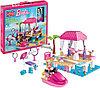 Конструктор Mega Bloks Barbie Tropical Resort Тропический курорт Барби, 145pcs