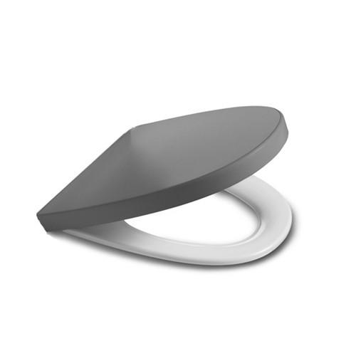 Сиденье для унитаза с крышкой Roca Khroma  серый 7801652F2T