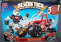 Конструктор Mega Bloks Rescue Tech 3 in 1 Спасательная техника, 30pcs