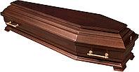 Гроб лакированный шестигранный