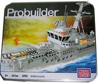 Конструктор Mega Bloks Probuilder Gromitz M1064 Корабль, 343pcs