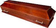 Гроб лакированный прямоугольный, фото 1