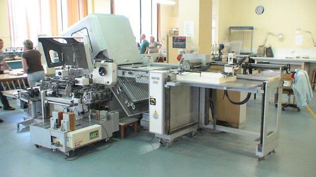 Shoei SPB 66-4 б/у 2007г - фальцевальная машина