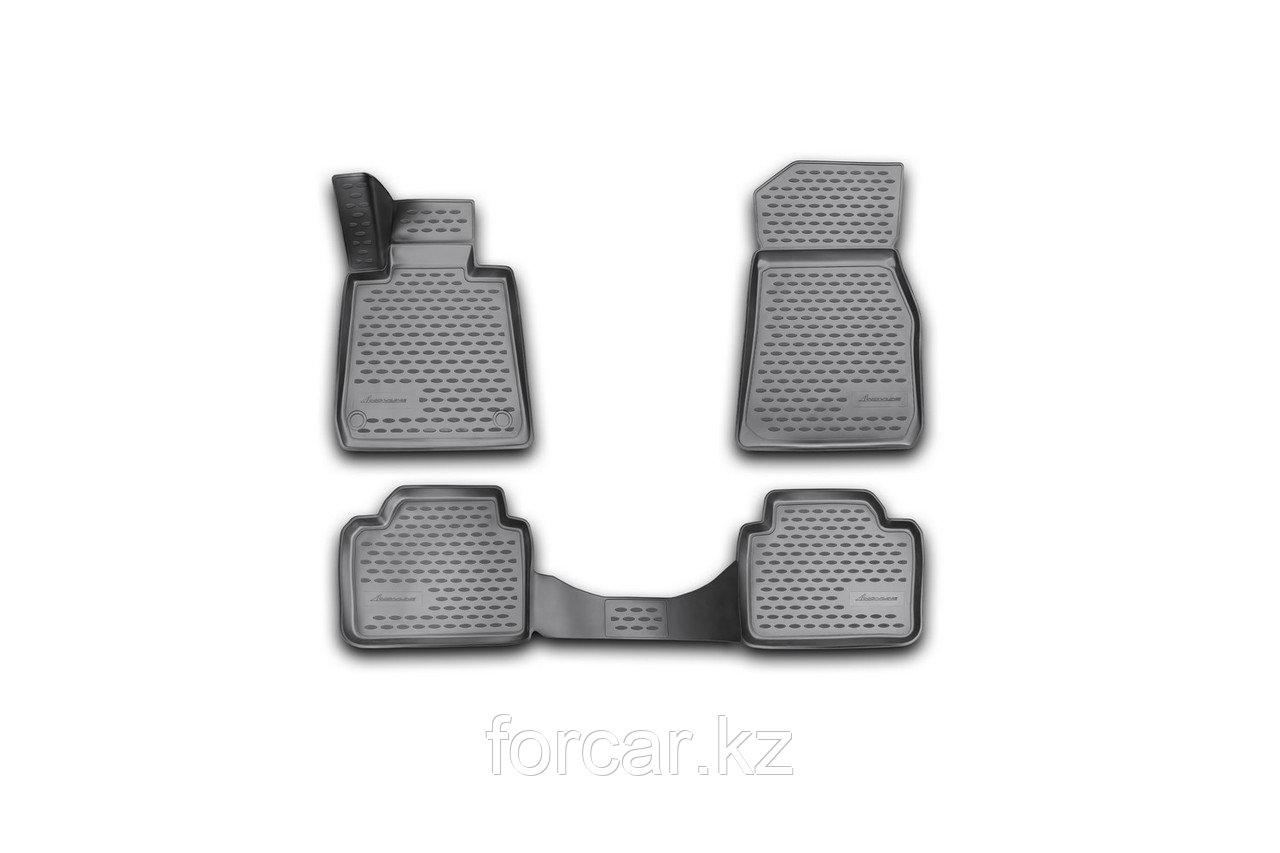 Коврики 3D в салон BMW 3 F30, 2012-> 4 шт. (полиуретан)