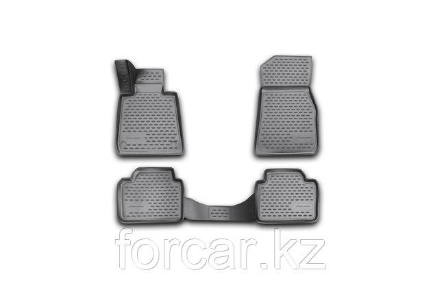 Коврики 3D в салон BMW 3 F30, 2012-> 4 шт. (полиуретан), фото 2