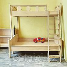 Детская двухэтажная кровать!