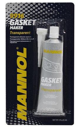 MANNOL GASKET MAKER TRANSPARENT (прозрачный силиконовый герметик (-40°C - +180°C))