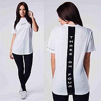 Женская футболка 304 белая, фото 1