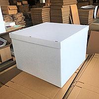 600*600*600 Большая подарочная коробка, белая