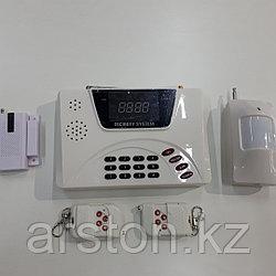 Охранная сигнализация GSM для дома с дисплеем