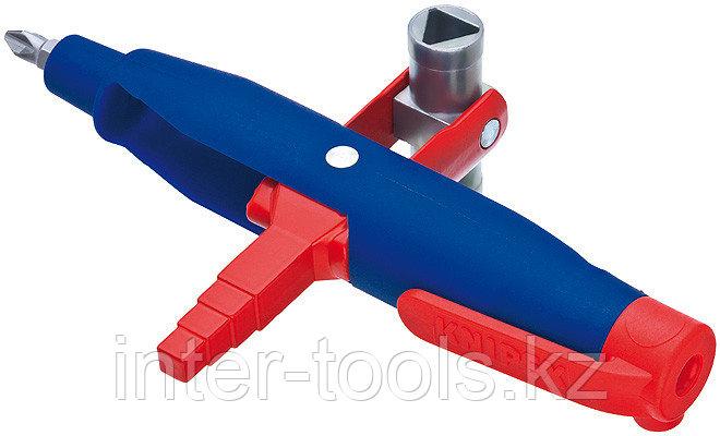 Штифтовый ключ для электрошкафов для распространенных шкафов и систем запирания 00 11 08