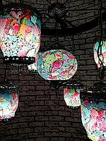 Люстра в восточном стиле, турецкая мозаичная люстра