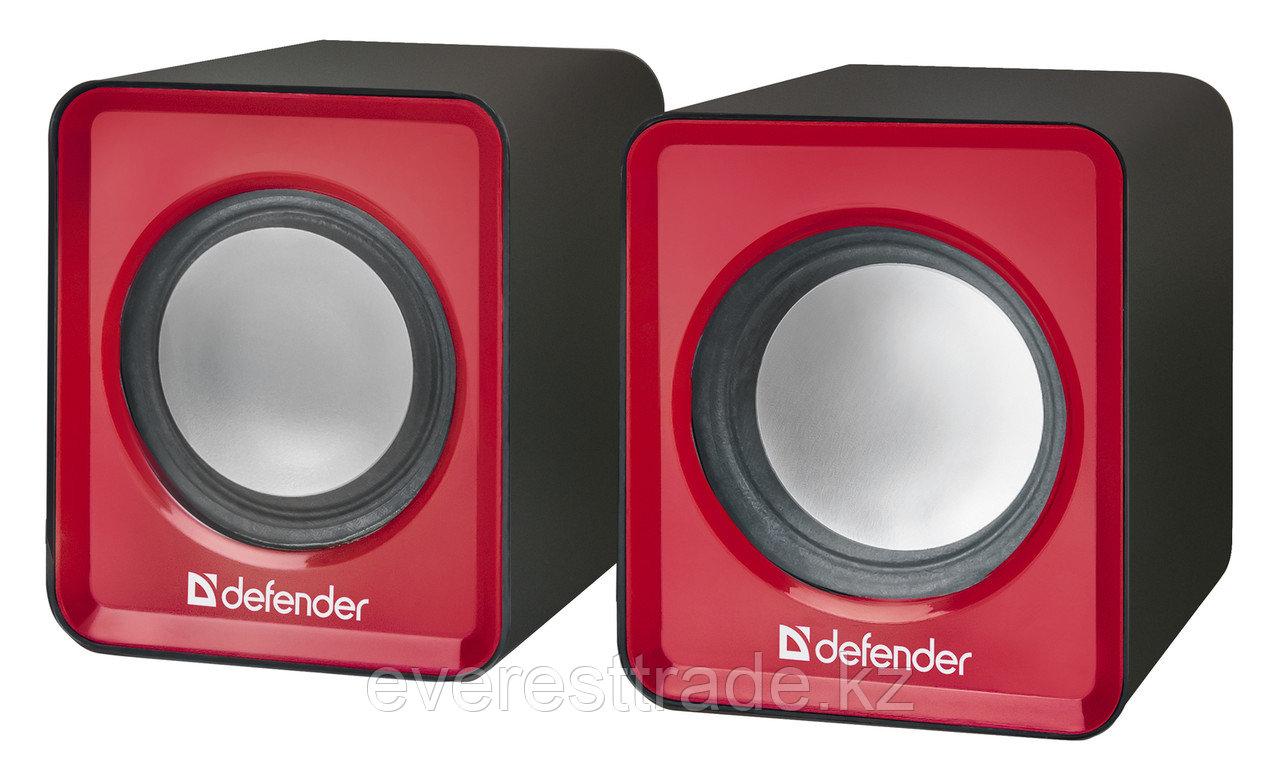 Компактная акустика 2.0 Defender SPK 22 красный