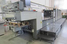 Komori 528+L б/у 2001г - 5 красок + лак печатная машина