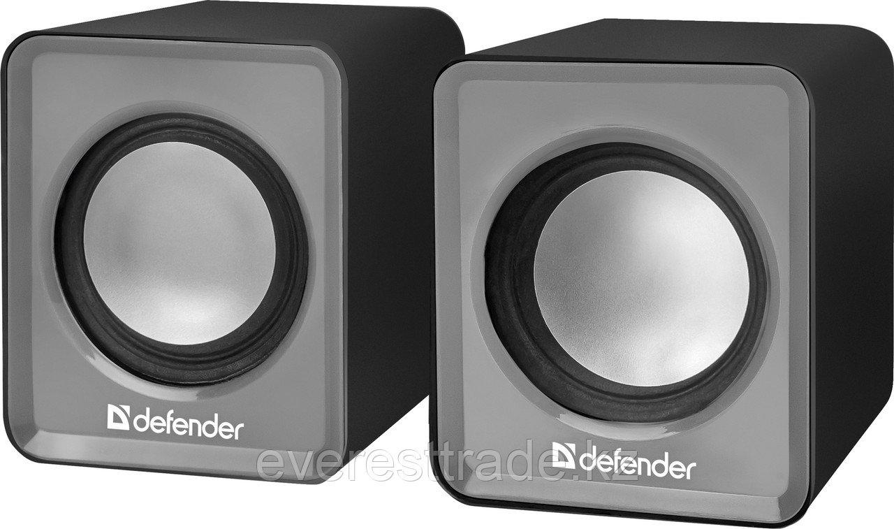 Компактная акустика 2.0 Defender SPK 22 серый