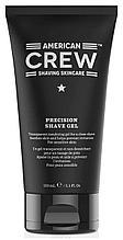 Не пенящийся гель для бритья Precision Shave Gel American Crew 150 мл.