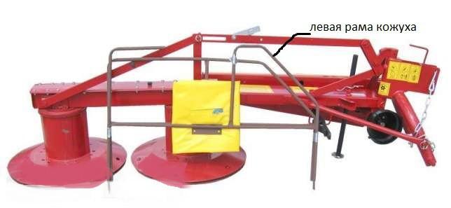 Запасные части к роторным косилкам Wirax