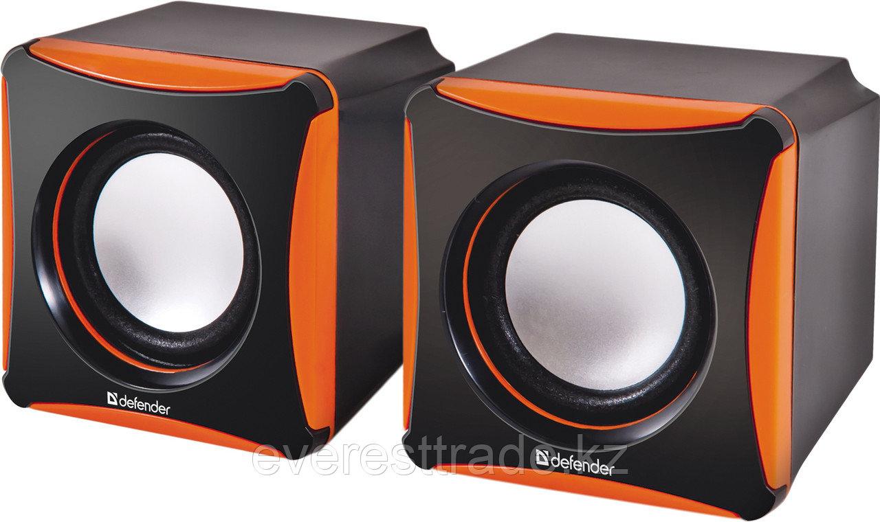 Компактная акустика 2.0 Defender SPK-480 комбинированый