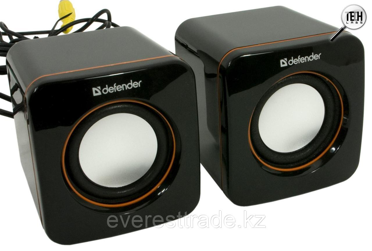 Компактная акустика 2.0 Defender SPK-530 черный