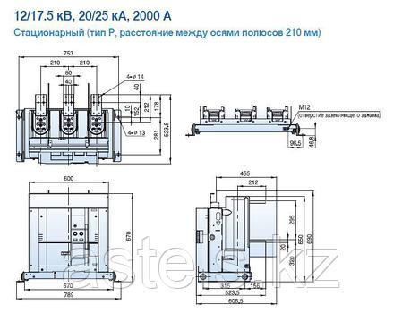 Вакуумный выключатель VL-12 (2000А), фото 2