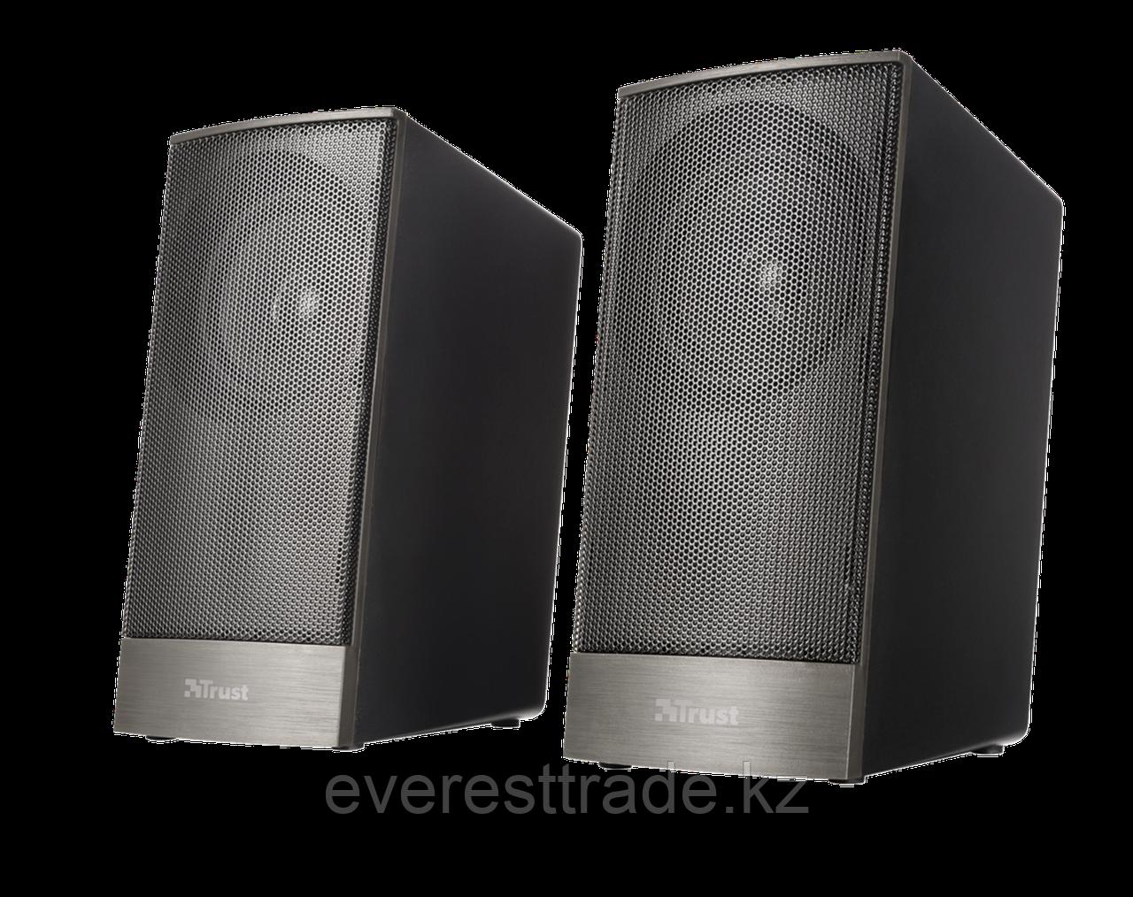 Компактная акустика 2.0 Trust EBOS черный