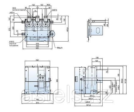 Вакуумный выключатель LS SUSOL VL-12 (630/1000/1250А), фото 2