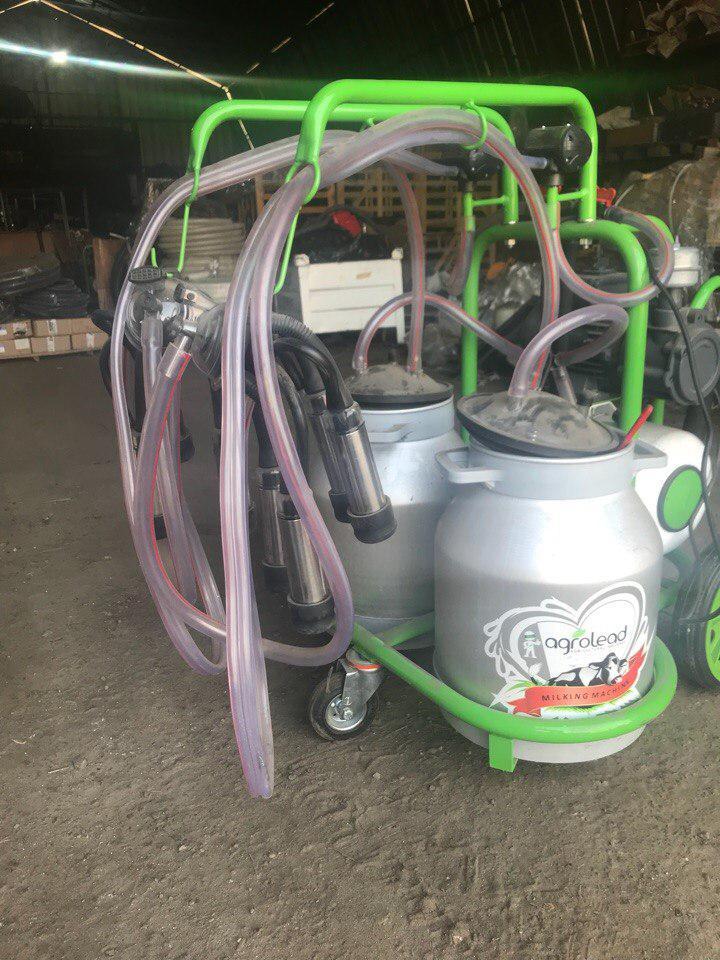 Доильный аппарат Agrolead сухого типа ALMM 22 (30 лит)