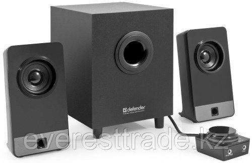 Компактная акустика 2.1 Defender T I-Wave S16 16 Вт черный, деревянный корпус, 220В