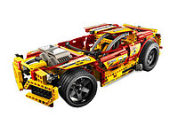 Конструктор BELA Racer Огненный гонщик (пластиковый), 597pcs, фото 1