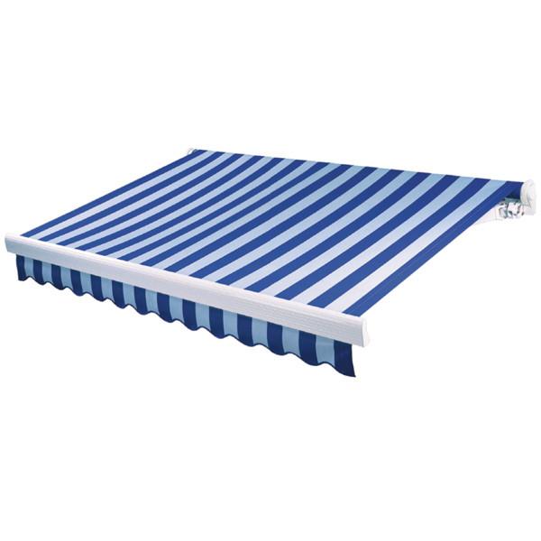 Выдвижная маркиза - навес 3х2м, синий