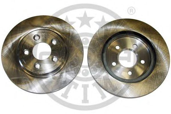 Тормозные диски  Jaguar S-Type  (99-..., задние, Optimal)