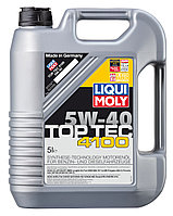Синтетическое моторное масло Top Tec 4100 5W-40   5 литров