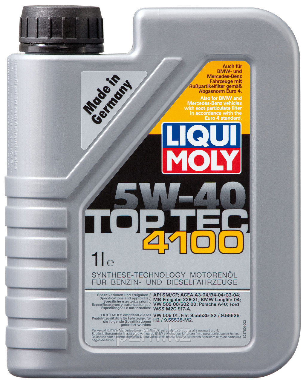 Синтетическое моторное масло Top Tec 4100 5W-40 1литр