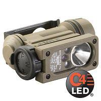 Streamlight Фонарь на шлем Sidewinder Compact® II E-Mount StreamLight®, светодиод 55 люмен