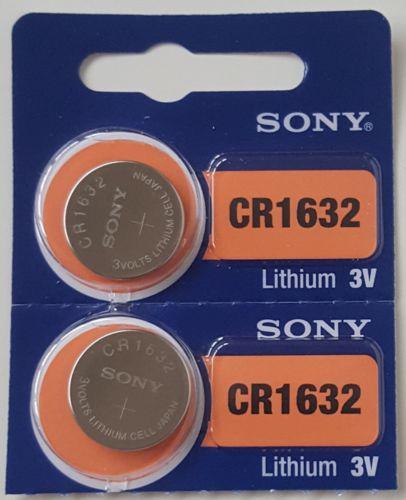 Sony CR1632 литиевая батарея