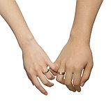 """Кольцо обручальное """"Совершенство пара"""" 2 шт, фото 4"""