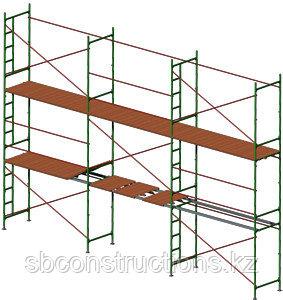 Леса строительные рамные монтажные для наружных работ