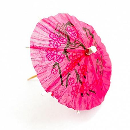 Пика деревянная Зонтик 10см,144шт. арт. 06020611