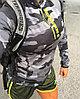 Легкие дышащие женские шорты для бега и фитнеса желтые
