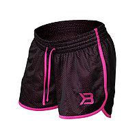Легкие дышащие женские шорты для бега и фитнеса фиолетовые, фото 1