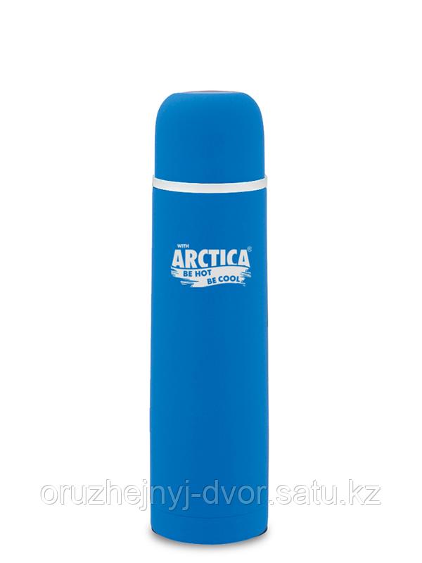 Термос бытовой, вакуумный, питьевой тм Арктика 1000мл синий, зеленый
