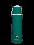 Термос бытовой, вакуумный, питьевой тм Арктика 1000мл синий, зеленый, фото 2