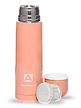 Термос бытовой, вакуумный, питьевой тм Арктика 500 мл, арт 102-500 (каралловый), фото 2